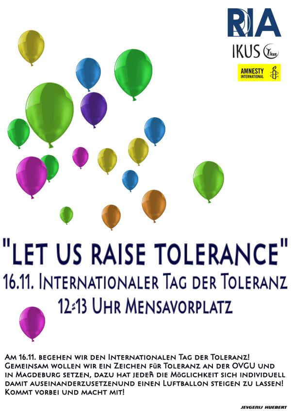 GUERICKE FM beim Tag der Toleranz am 16.11.