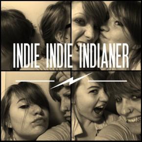 INDIE INDIE INDIANER Liebes-Glitzer-Kitsch-Indianer-Show