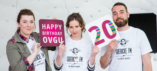 Happy Birthday! - 20 Jahre OVGU