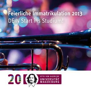 GUERICKE FM und die Feierliche Immatrikulation 2013