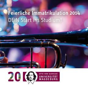 GUERICKE FM und die Feierliche Immatrikulation 2014