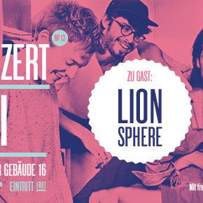 Guericke FM Radiokonzert: Lion Sphere   Heute, 16.00 Uhr