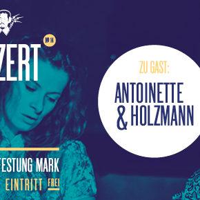 Guericke FM Radiokonzert Marie Antoinette & Richard Holzmann | Donnerstag, 06.12.2018, 19.00 Uhr